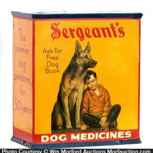 Sergeants Dog Medicines Cabinet