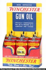 Winchester Gun Oil Display