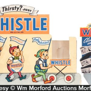 Whistle Soda Display