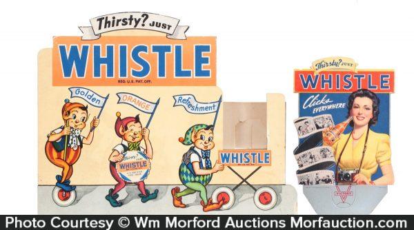 Whistle Soda Display