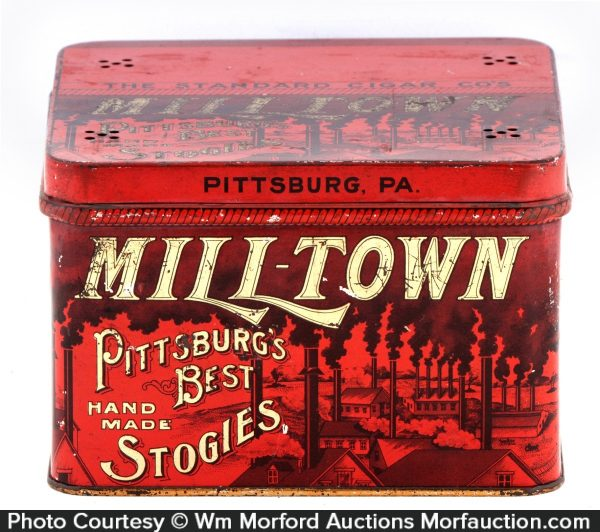 Milltown Stogies Tin