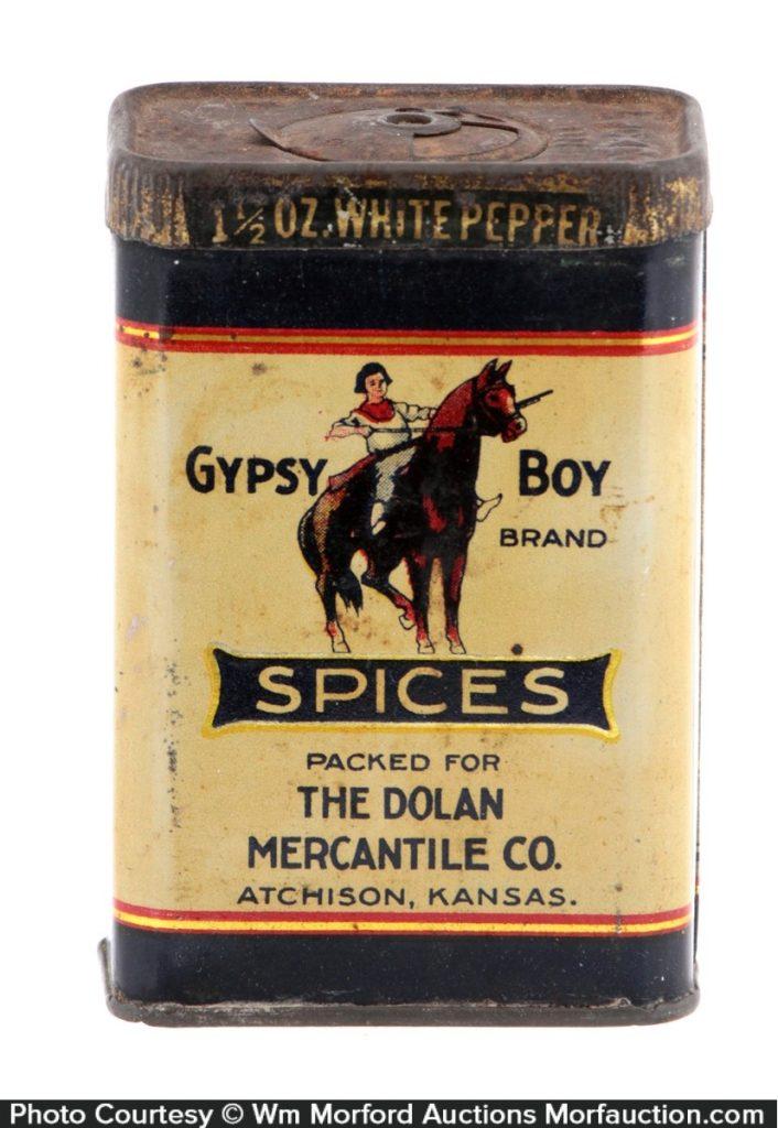 Gypsy Boy Spice Tin