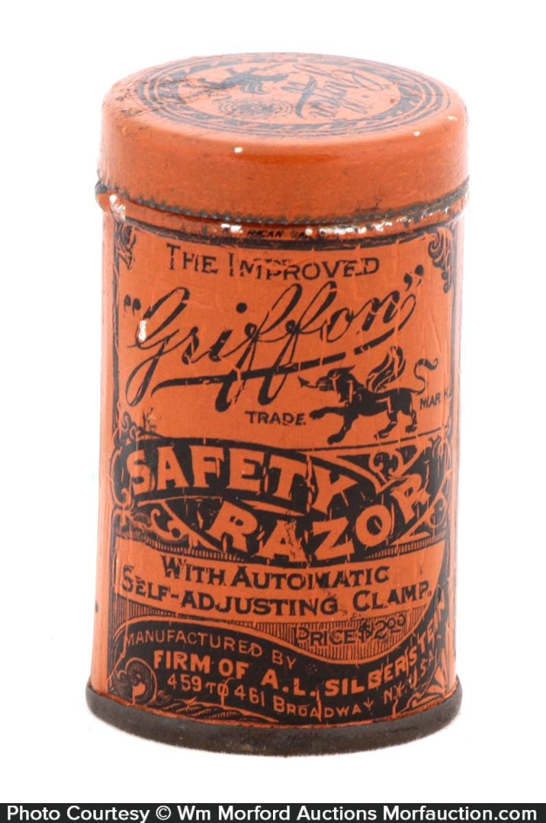 Griffon Safety Razor Tin