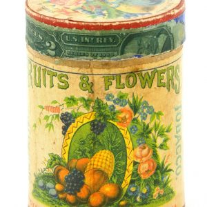 Fruits & Flowers Tobacco Tin