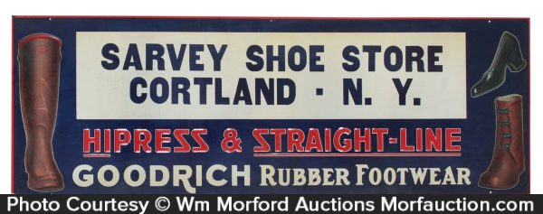Goodrich Footwear Sign