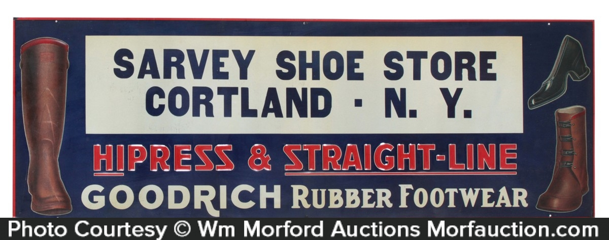 Goodrich Footwear Sign