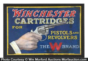 Winchester Cartridges Sign