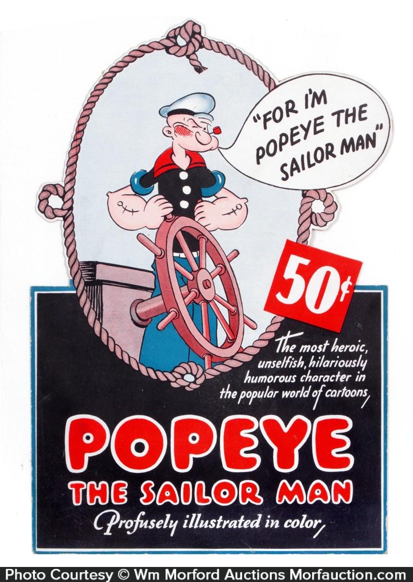 Vintage Popeye 58