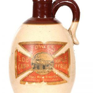 Towle's Log Cabin Syrup Jug