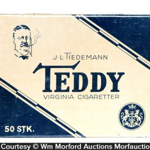 Teddy Cigarettes Tin