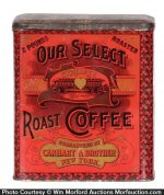 Carhart's Our Select Coffee Tin