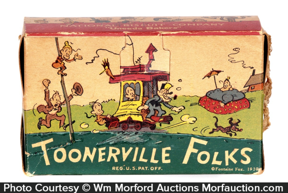 Toonerville Folks Cookie Box