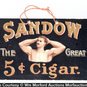 Sandow Cigars Sign