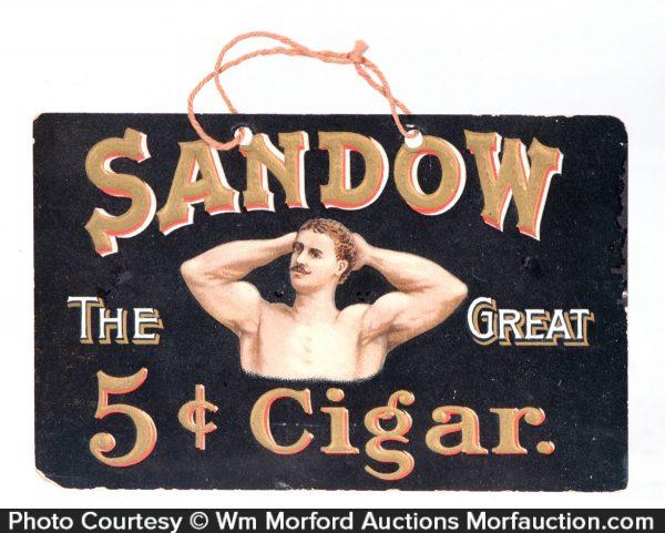 Sandow Cigars Sign