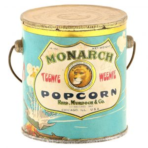 Monarch Teenie Weenie Popcorn Pail