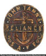 Reliance Safes Sign