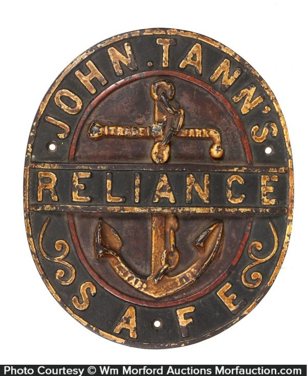 Reliance Safes Sign