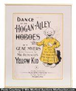 Yellow Kid Hogan Alley Sheet Music