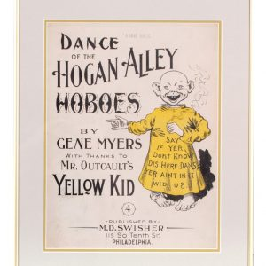 Yellow Kid Hogan Alley Sheet Music