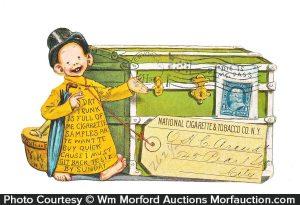Yellow Kid Cigarettes Postcard