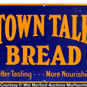 Town Talk Bread Sign