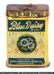 Blue Daisy Spice Tin