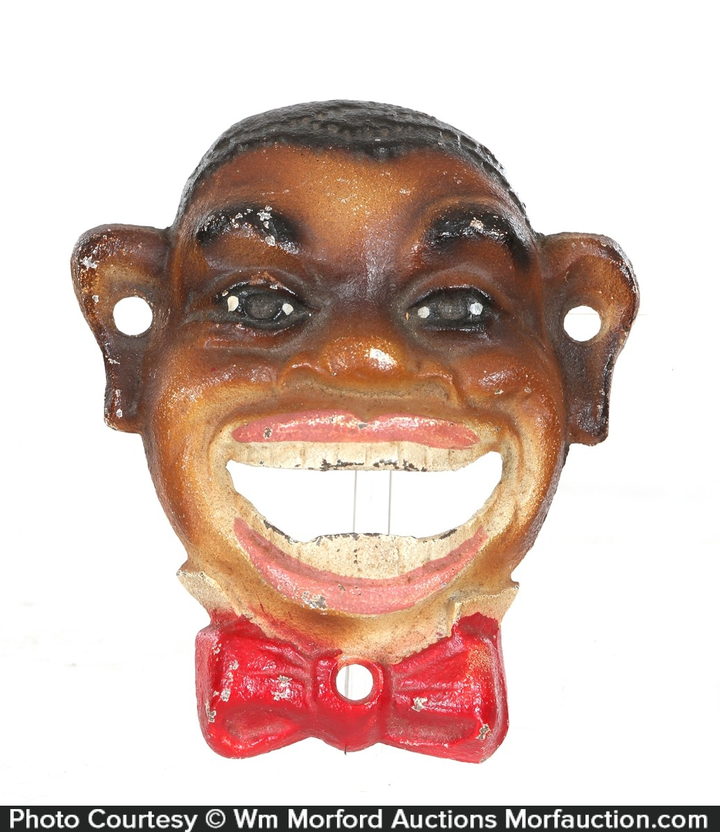 Black Man Bottle Opener