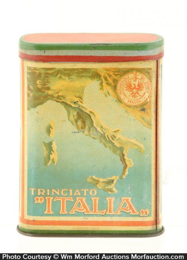 Italian Tobacco Tin