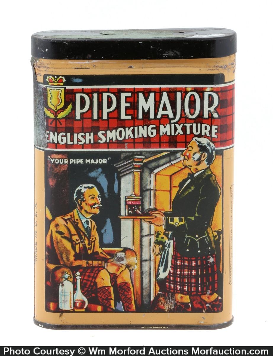 Pipe Major Tobacco Tin