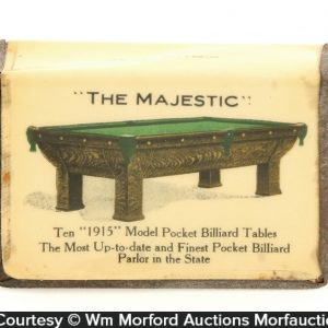 The Majestic Billiards Match Holder