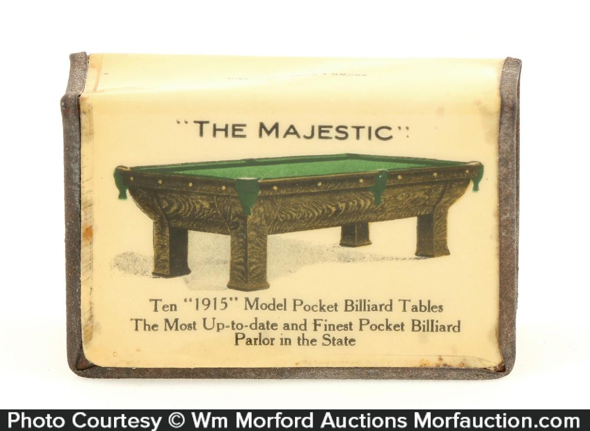 The Majestic Billiards Match Holder