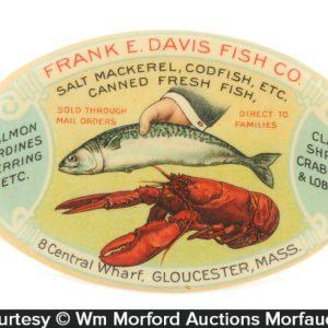 Davis Fish Company Pocket Mirror
