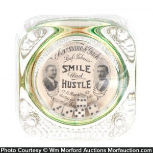 Smile and Hustle Tobacco Paperweight