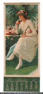 1917 Coca-Cola Calendar