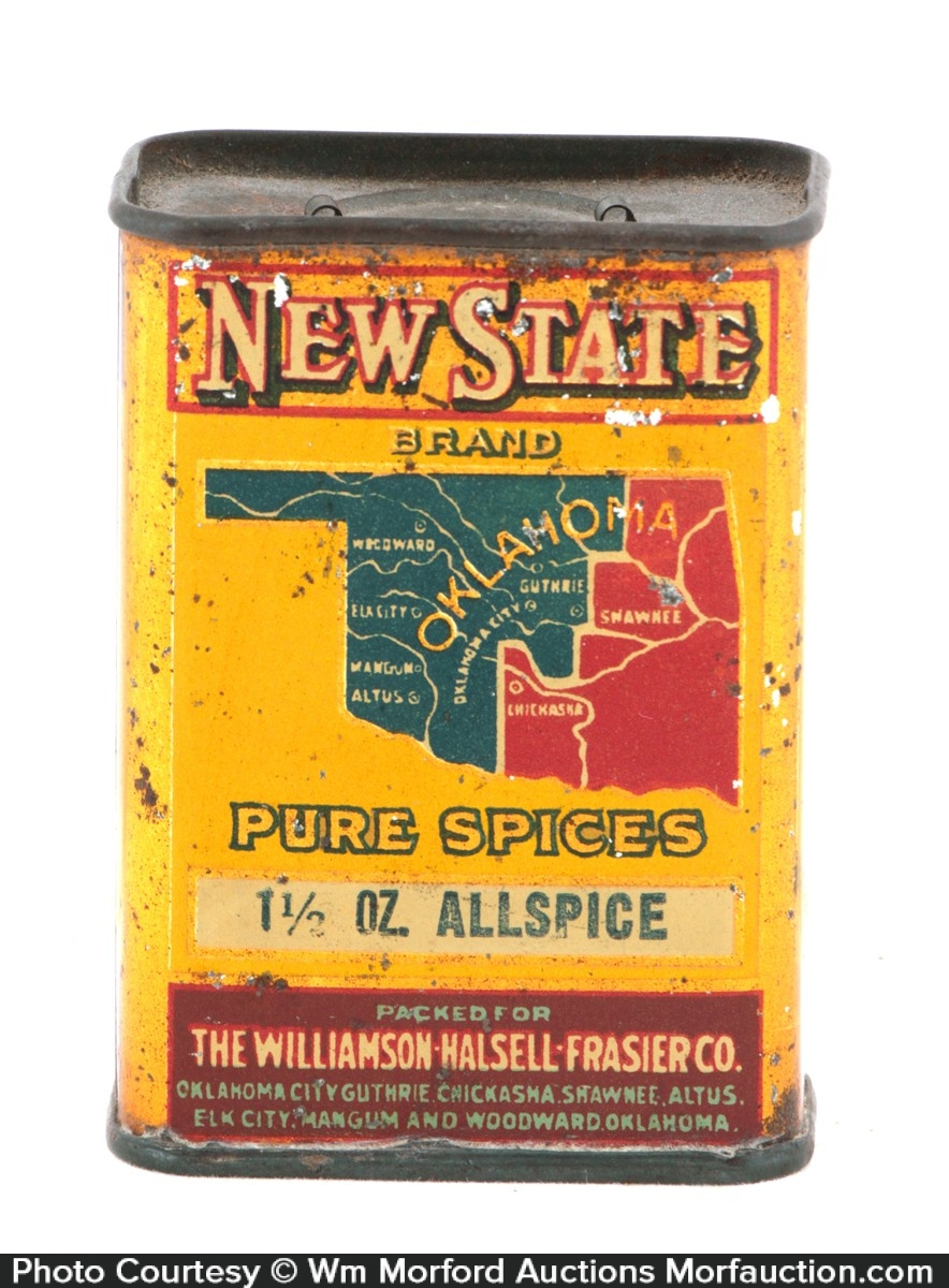 New State Spice Tin