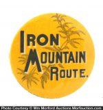 Iron Mountain Route Pocket Mirror