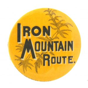 Iron Mountain Route Pocket Mirror