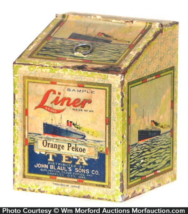 Liner Tea Sample Bin