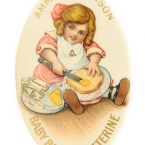 Baby Butterine Pocket Mirror