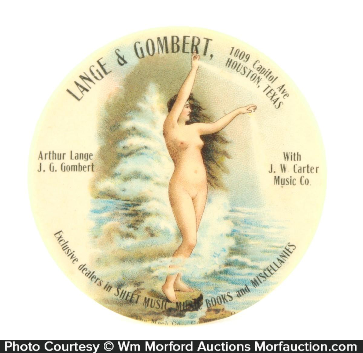 Lange & Gombert Music Pocket Mirror