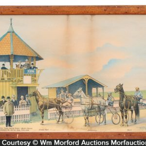 Prince Albert Horse Racing Print