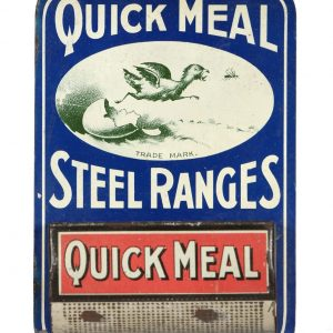 Quick Meal Steel Ranges Match Holder