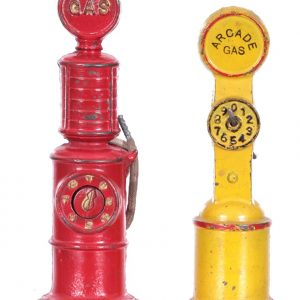 Vintage Gas Pump Toys
