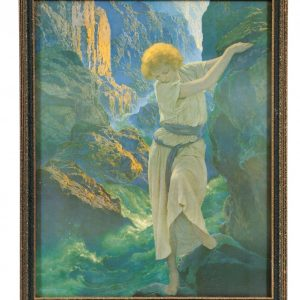 Maxfield Parrish The Canyon Art Print