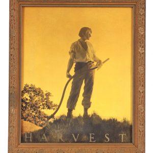 Maxfield Parrish Harvest Print