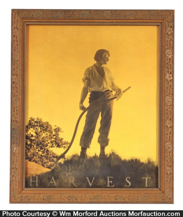 Maxfield Parrish Harvest Print