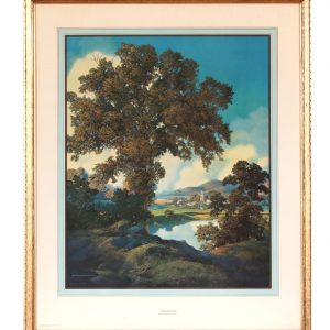 Large Maxfield Parrish Peaceful Valley Print