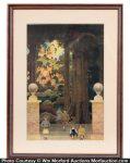 Maxfield Parrish Sugar Plum Tree Art Print