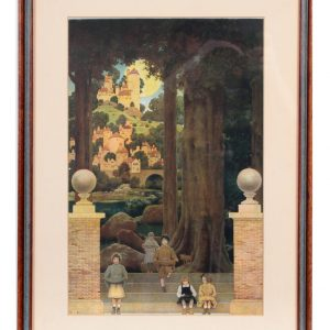 Maxfield Parrish Sugar Plum Tree Art Print