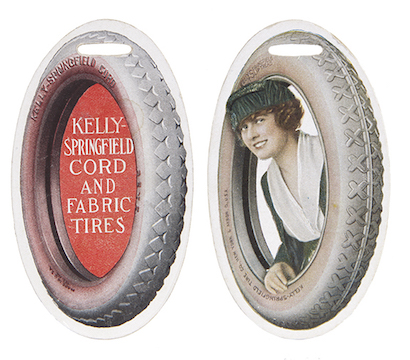 Kelly-Springfield Tires Watch Fob